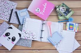 back to school diy panda school supplies free printables