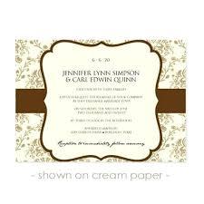 Invitation Inserts Templates A5 Wedding Template Saleonline Info