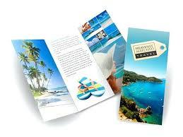 Travel Agency Brochure Sample Syncla Co
