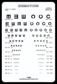 Eye Test C Chart Good Lite Company