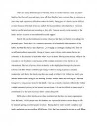 many different types of families essay zoom zoom
