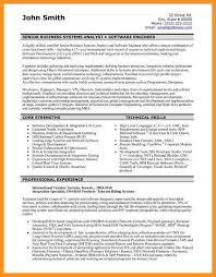 4 5 Resume Format For Software Developer Wear2014 Com