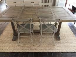 fox hollow cottage reclaimed barn wood farmhouse style dining farm trestle table