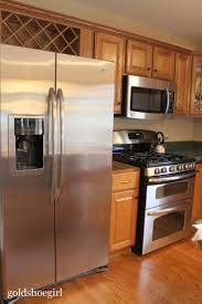 Over The Fridge Cabinet 19 Best Home Kitchen Above Refrigerator Images On Pinterest