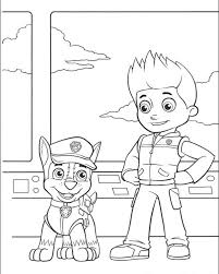 Paw Patrol Drawing At Getdrawingscom Free For Personal Use Paw
