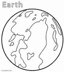 Small Picture Planet Earth Coloring Pages Earth Coloring Page Printable Earth