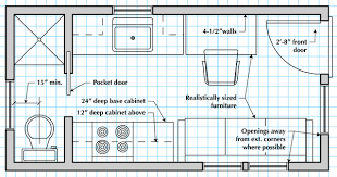 How to Draw a Tiny House Floor Planfloor plan