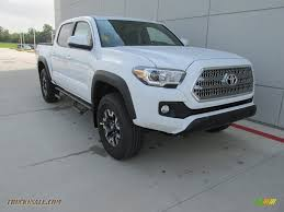 2017 Toyota Tacoma TRD Off Road Double Cab 4x4 in Super White ...