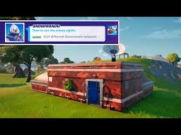 Where to find snowman outposts in fortnite. Visit Different Snowmando Outposts In Fortnite All 5 Locations Operations Snowdown Quests