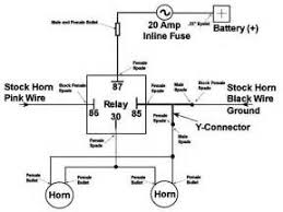 fiamm horn relay diagram images air horn wire diagram wiring and fiamm horn relay diagram dual horn installation cartest software