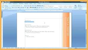 Creating A Resume On Word How To Create A Resume On Word How To