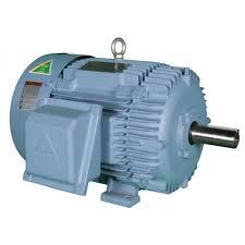hyundai 5hp electric motor polar air by eaton compressor hyundai 5hp 3 phase tefc 230 460 volt electric motor