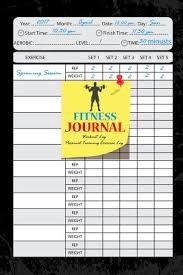 weight training log book 9781545117170 fitness journal workout log personal training sn