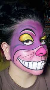 cat face paint alice in wonderland