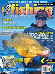 Dogtooth Lake Depth Chart New South Wales Fishing Monthly August 2019 By Fishing