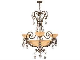 fredrick ramond barcelona french marble six light 35 wide chandelier