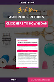 Design And Create Your Own Clothes Dress Design Tools Kit Musk Have Tools To Create Your Own