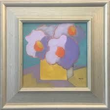 Audrey Heard (1924-2012) Yellow Vase, 2011. Oil on canvas - Mystic ...