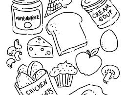 Small Picture Beautiful Coloring Pages Of Healthy Foods Photos Printable