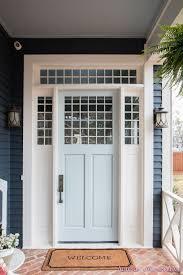 Beautiful Light Blue Paint Colors Our Beautiful New Light Blue Front Door Paint Color W Ace
