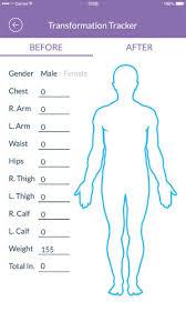 21 Day Fix Body Measurement Chart Bedowntowndaytona Com