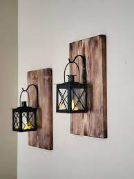 wall candle holder lantern sconce