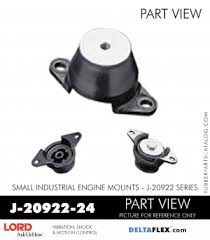J 20922 24 Lord Small Engine Mount Industrial