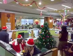 christmas decorating themes for office. Strikingly Design Ideas Office Christmas Decorating Themes For S