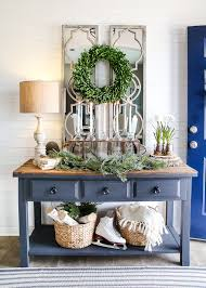 foyer furniture ideas. 6 After-Christmas Winter Foyer Decorating Ideas | Blesserhouse.com - Tips  For Foyer Furniture Ideas