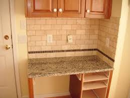 Tile Backsplash Kitchen Subway Tile Backsplash Ideas Home Design And Decor