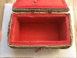 Schmuckschatulle Vintage Retro Bast Kiste In 86842 Türkheim