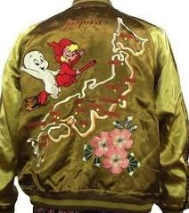 casper and wendy. [ten strike] casper and wendy souvenir jacket