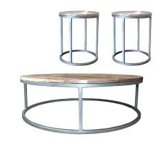 iron coffee table base