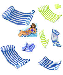 pool lounge float chair best of water hammock lounger bed pool float hammock water hammock lounger