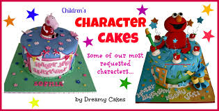 Character Cakes Kids Love Them