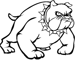 Small Picture Bulldog Dog Free Coloring Pages Printable For Kids university of