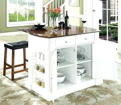 White Portable Kitchen Island Movable Kitchen Islands Island With Breakfast  Bar In White Finish White Portable . White Portable Kitchen Island ...