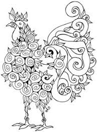 Small Picture Farm animal chicken coloring page Morning Roster at the crack of