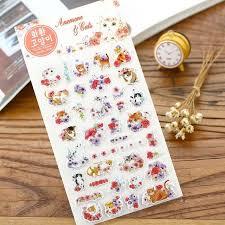 3D Office Design Best Wholesale Korea Promotion Kawaii Novelty 48D Garland Design Diy Funal