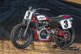 indian returns to flat track cycle world