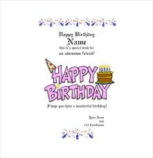 Free Printable Gift Certificate Template Word Birthday Gift Certificate Templates 16 Free Word Pdf