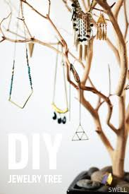DIY jewelry tree. @SWELL http://blog.swell.com/