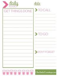 free office planner. Free Printable Daily To-Do List Office Planner R