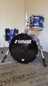 Sonor Designer Series Sonor Designer Series 2004 Metallic Marine 3 Piece Drum Set