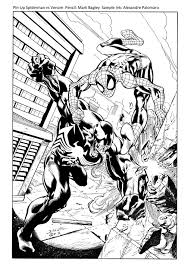 Small Picture Venom Spider Man Coloring Pages Coloring Coloring Pages