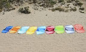 beach towel on beach. Exellent Towel A  With Beach Towel On O