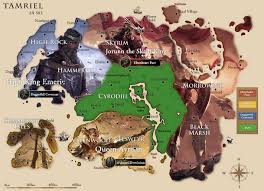 neat eso themed map of tamriel i found elderscrollsonline Eso Map neat eso themed map of tamriel i found eso map guide