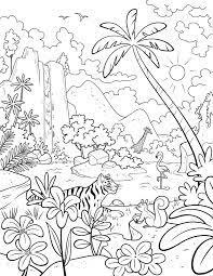 Tổng hợp các bức tranh tô màu phong cảnh mùa xuân rực rỡ dành tặng cho bé -  Chia sẻ 24h