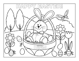 Easter Coloring Pages 3 Coloring Kids Easter Coloring Pages In