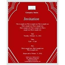 Formal Invitation Templates Formal Party Invitation Templates